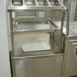 inox element za pribor, hleb i poslužavnike