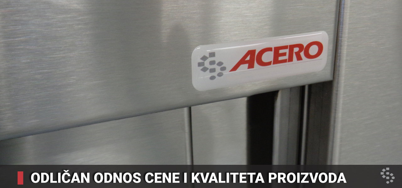 ugostiteljska oprema acero